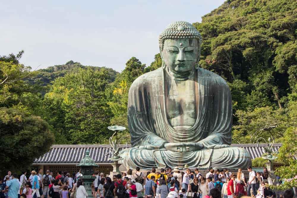 Daibutsu - The Great Buddha of Kotokuin Temple in Kamakura ...