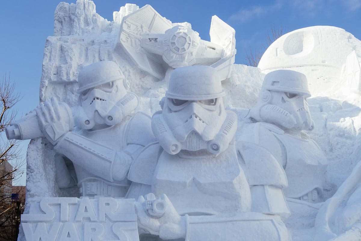 Image result for sapporo snow festival